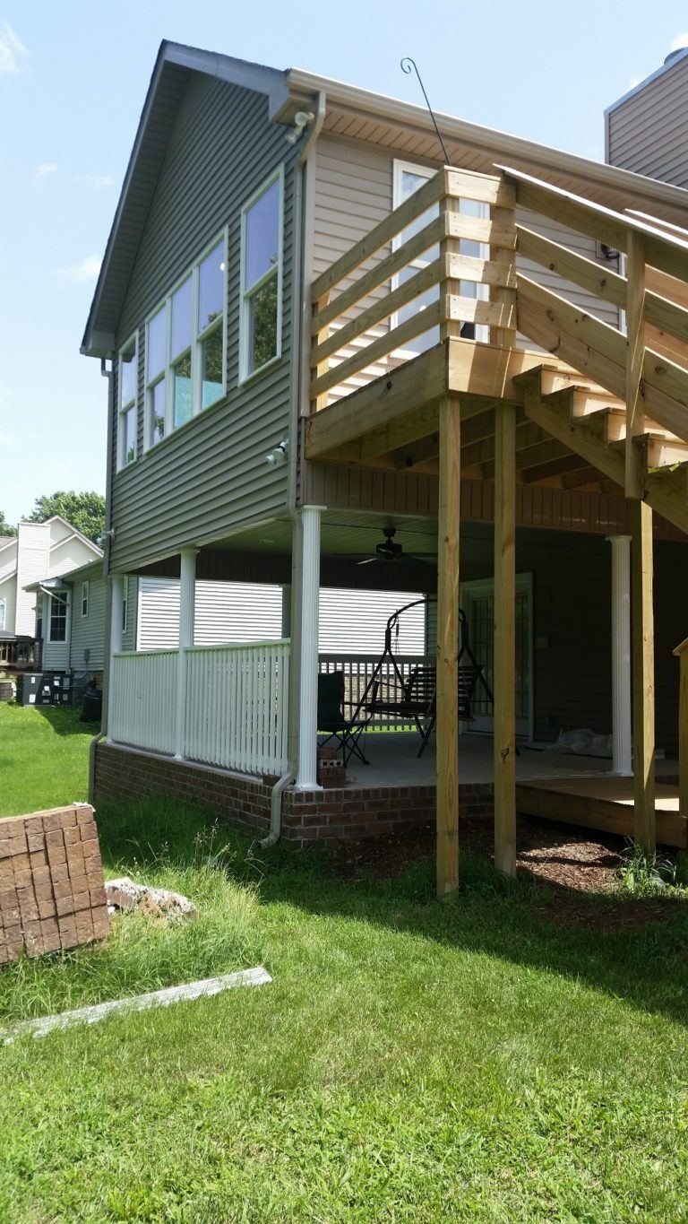 deck home addition